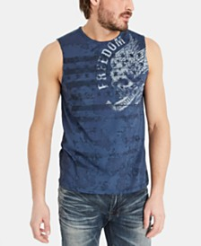 Buffalo David Bitton Men's Tufix Graphic Tank