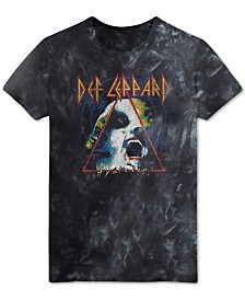 FEA Men's Def Leppard Graphic T-Shirt