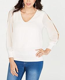 Split-Sleeve Top, Created for Macy's