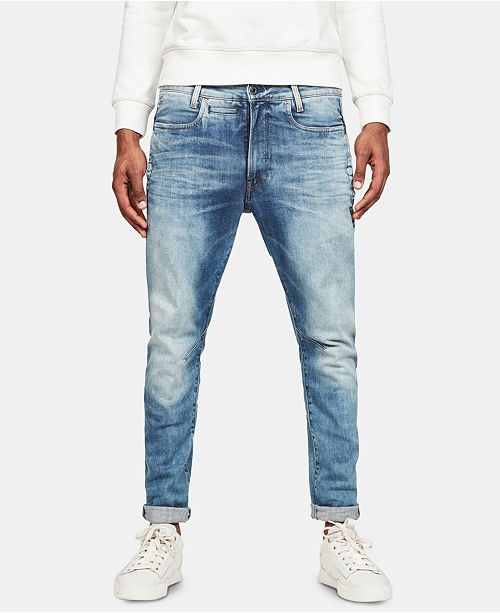 G Star RAW Men's D Staq 3D Slim Fit Jeans, Created for Macy's