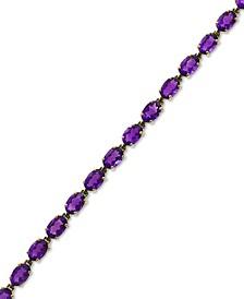 EFFY® Amethyst Tennis Bracelet (10-3/4 ct. t.w.) in 14k Gold