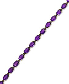 EFFY® Amethyst Tennis Bracelet (10-3/4 ct. t.w.) in 14k Gold