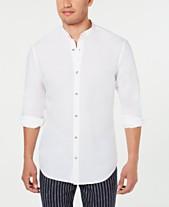 3465b939d68eec band collar shirt - Shop for and Buy band collar shirt Online - Macy's