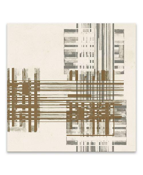 "Artissimo Designs Matrix Illusion Ii Printed Canvas Art - 18"" W x 18"" H x 1.25"" D"