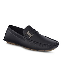Members Only Men's Slip-On Driving Moccasins