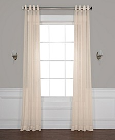 "Grommet Solid Sheer 50"" x 108"" Curtain Panel"