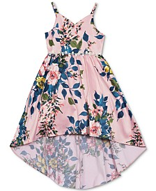 Rare Editions Toddler Girls Floral-Print Dress