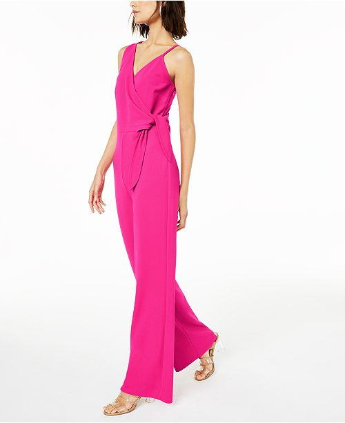 497b2f9915fc Bar III Tie-Bodice Jumpsuit, Created for Macy's & Reviews - Pants ...