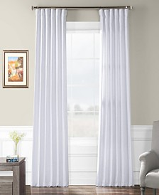 "Exclusive Fabrics & Furnishings French Linen 50"" x 108"" Curtain Panel"