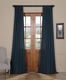 "Exclusive Fabrics & Furnishings Semi Sheer 50"" x 84"" Curtain Panel"