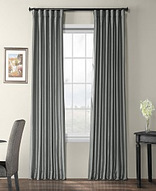 "Exclusive Fabrics & Furnishings Blackout Taffeta 50"" x 84"" Curtain Panel"