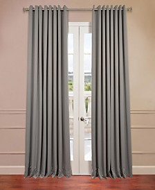 "Exclusive Fabrics & Furnishings Grommet Extra Wide Blackout 100"" x 108"" Curtain Panel"