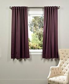 "Blackout 50"" x 63"" Curtain Panel"