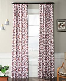 "Exclusive Fabrics & Furnishings Palisade Blackout 50"" x 84"" Curtain Panel"