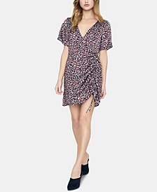 Printed Ruched Dress