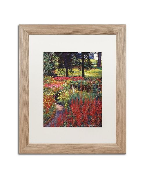 "Trademark Global David Lloyd Glover 'Nature's Dreamscape' Matted Framed Art - 16"" x 20"""