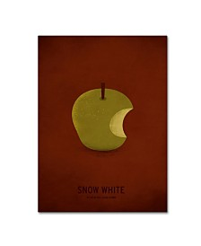 """Christian Jackson 'Snow White' Canvas Art - 35"""" x 47"""""""