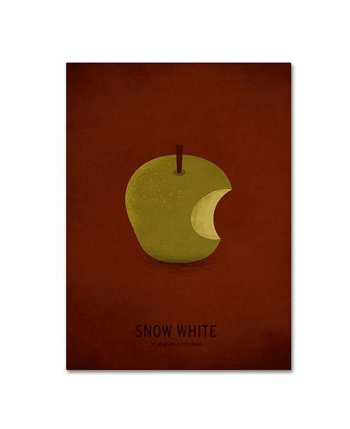 "Trademark Global Christian Jackson 'Snow White' Canvas Art - 35"" x 47"""