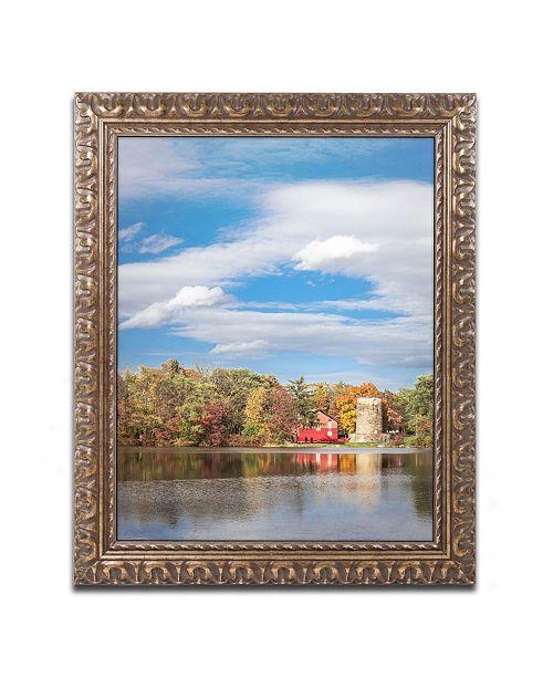 """Trademark Global Jason Shaffer 'Morgan Street 5' Ornate Framed Art - 16"""" x 20"""""""