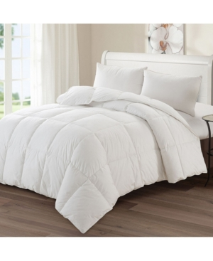 Ac Pacific Luxury Goose Down Medium Warmth Comforter, Twin