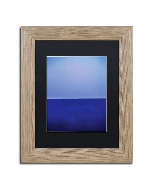 """Trademark Global Claire Doherty 'Silence' Matted Framed Art - 11"""" x 14"""""""