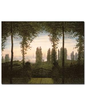 Caspar Friedrich Remembrance of Johann Bremen Canvas Art - 24 x 18
