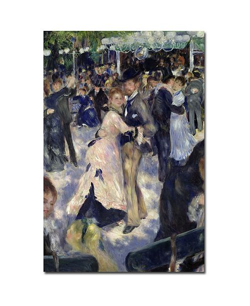 "Trademark Global Pierre Auguste Renoir 'Le Moulin de la Galette' Canvas Art - 24"" x 16"""