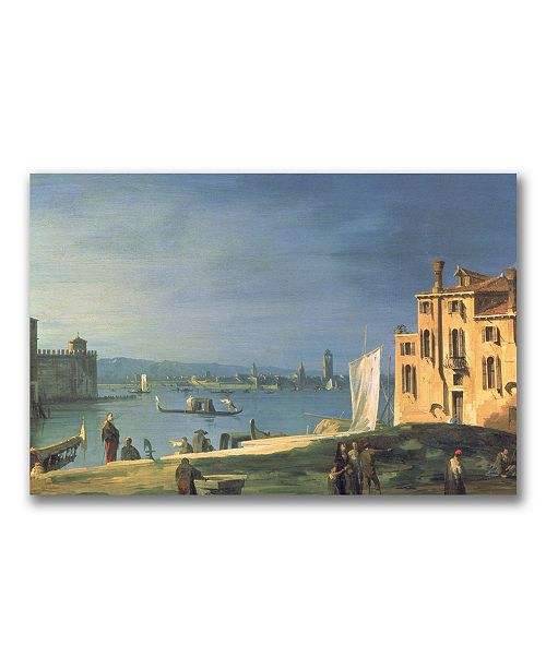 """Trademark Global Canaletto 'View of Venice' Canvas Art - 24"""" x 16"""""""