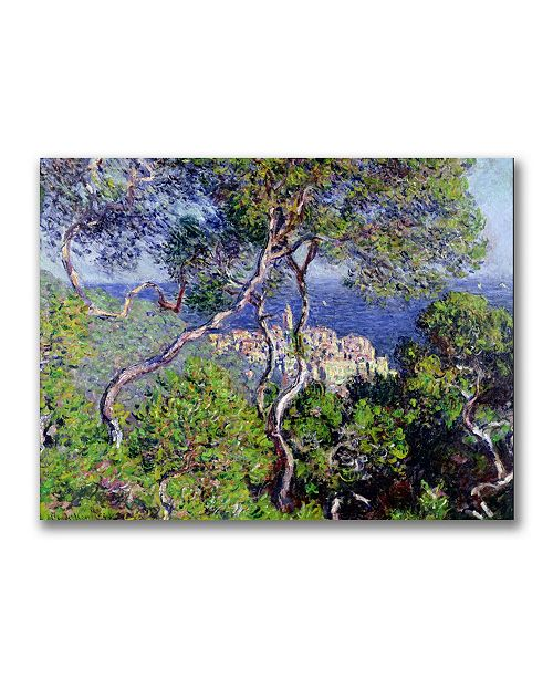 "Trademark Global Claude Monet 'Bordighera 1884' Canvas Art - 32"" x 24"""