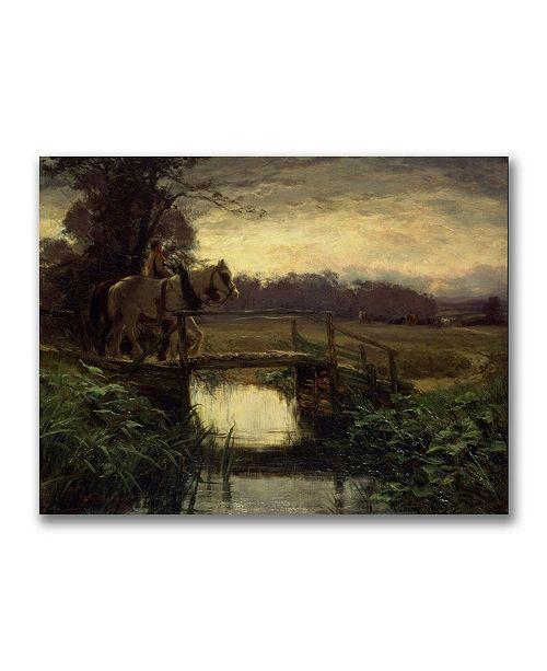 "Trademark Global David Farquharson 'Grey Morning' Canvas Art - 47"" x 35"""