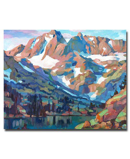 "Trademark Global David Lloyd Glover 'Sierra Nevada Silence' Canvas Art - 24"" x 18"""