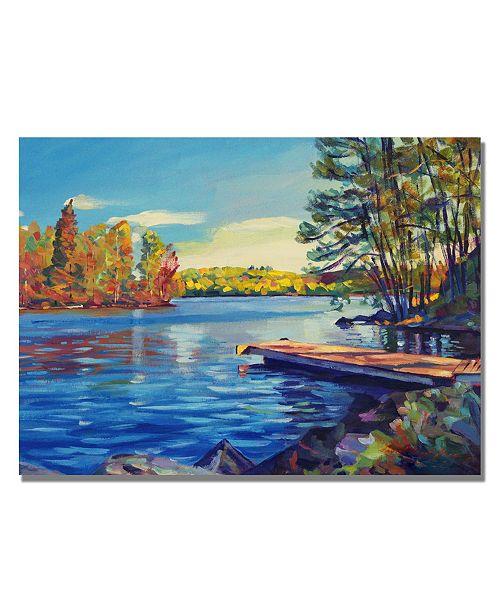 "Trademark Global David Lloyd Glover 'End of Summer' Canvas Art - 24"" x 18"""