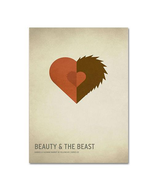 "Trademark Global Christian Jackson 'Beauty and the Beast' Canvas Art - 32"" x 22"""