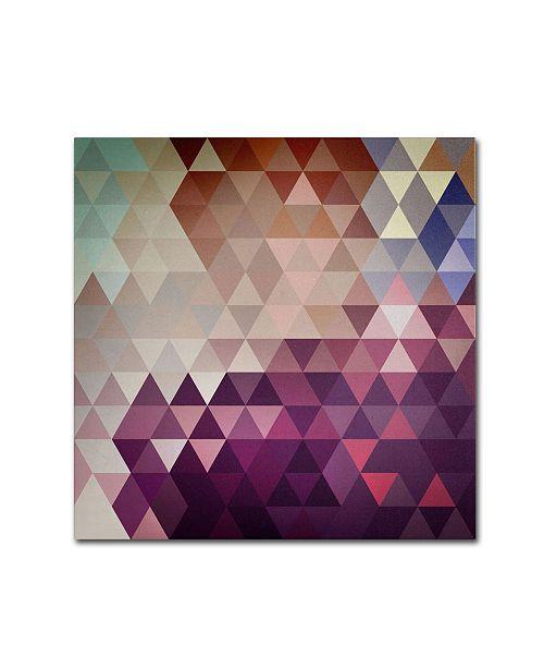 "Trademark Global Christian Jackson 'Trivector' Canvas Art - 18"" x 18"""