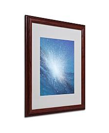 """Alan Byrne 'Sea Picture VI 2008' Matted Framed Art - 20"""" x 16"""""""