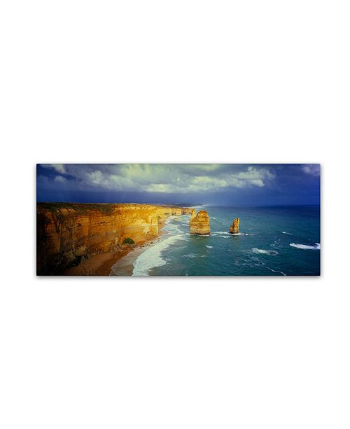 "Trademark Global David Evans 'Apostles in the Wind' Canvas Art - 47"" x 16"""