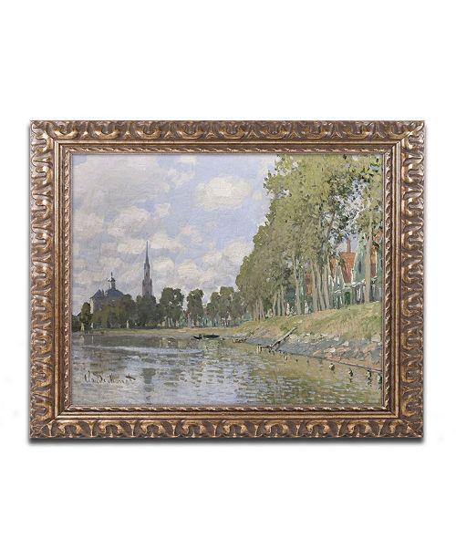"Trademark Global Monet 'Zaandam 1871' Ornate Framed Art - 16"" x 20"""