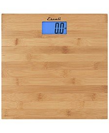 Corp Bamboo Bathroom Scale, 440lb