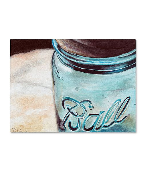"Trademark Global Jennifer Redstreake 'Ball Jar' Canvas Art - 14"" x 19"""