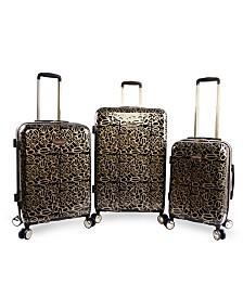 Bebe Annabelle 3-Piece Spinner Luggage Set