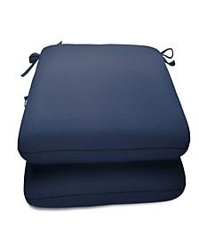 """Sunbrella 20"""" x 18"""" Seat Pads (2 Pack)"""