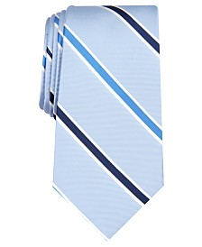 Nautica Men's Curti Slim Stripe Silk Tie