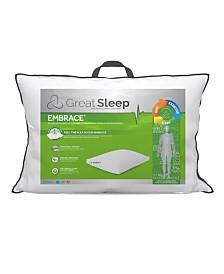 """Great Sleep Suprelle Flex Fiber 2"""" Gusset Standard/Queen Pillow"""