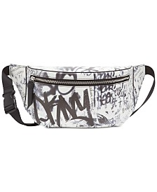 DKNY Tilly Graffiti Belt Bag, Created for Macy's