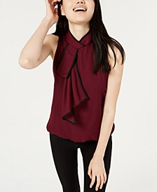 Juniors' Ascot Bubble Blouse