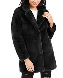 Eloise Faux-Fur Coat, Created for Macy's