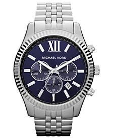 Men's Chronograph Lexington Stainless Steel Bracelet Watch 45mm MK8280