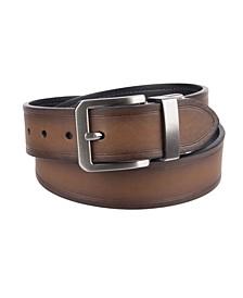 Reversible Casual Leather Men's Belt