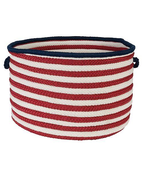 Colonial Mills Patriot Braided Storage Basket
