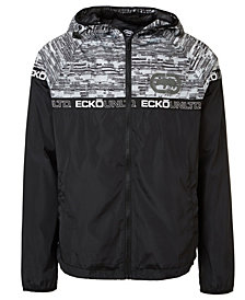 Ecko Unltd Men's Mullet Windbreaker